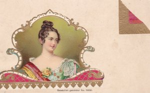 Tobacco Advertising Art , Victorian Lady Portrait , 1898-1907