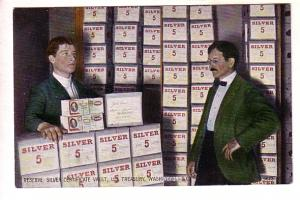 Reserve Silver Certificates, US Treasury Interior, Washington, DC