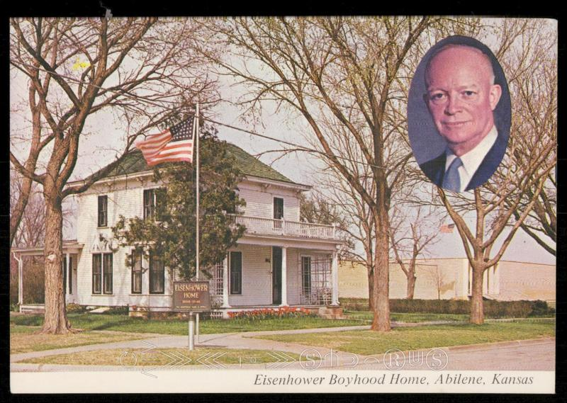 Eisenhower Boyhood Home and Museum, Abeline, Kansas