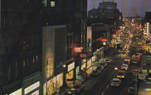 Canada King Street West from Queen Street Kitchener Ontario