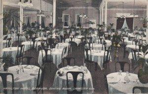 HAMILTON Hotel , Bermuda , 00-10s ; Dining Room