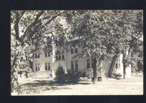 RPPC HASTINGS NEBRASKA HASTINGS COLLEGE ALEXANDER HALL REAL PHOTO POSTCARD