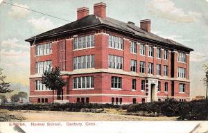 Danbury Connecticut~Normal School~State Teachers College~Now WCSU~1908 Postcard