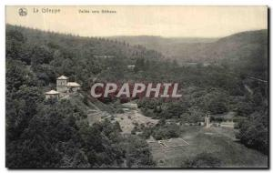 Old Postcard Gileppe La Vallee to Bethane