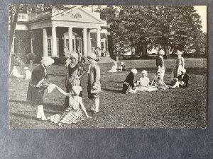 Monticello In Days Of Jefferson Charlottesville VA Litho Postcard H1204085357