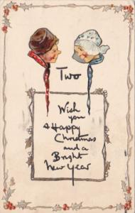 Christmas & New Year Dutck Kids 1912 Tucks