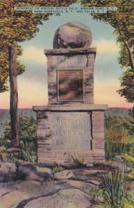 New York Barryville Monument On Minisink Battlefield Minisink Ford