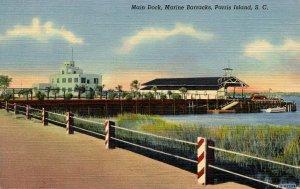 SC - Parris Island Marine Barracks. Main Dock