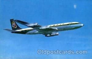 Olympic Airways Boeing 707-320 Airplane, Airport Post Card, Post Card  Olympi...