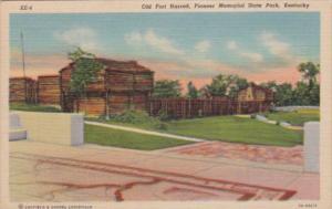 Kentucky Old Fort Harrod Pioneer Memorial State Park Curteich