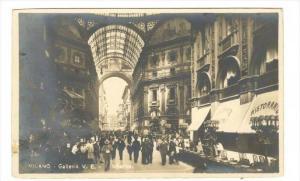 RP  MILANO - Galleria V.E. - Interno , ITALY, 00-10s