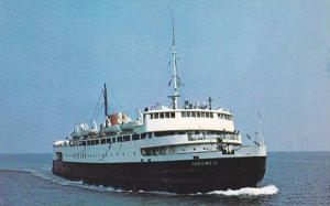 Ferry Boat M.V.S. aBEGWEIT , Cape Borden P.E.I. route , Canada , 40-60s