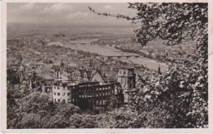 RP: Aerial View, Fruhiing in Heidelberg, Baden-Wurttemberg, Germany