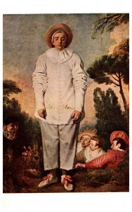 A. Watteau ,  Oil painting