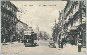 66342 - Polen POLAND - Ansichtskarten  VINTAGE POSTCARD -  WARSAW  Warszawa 1910