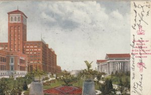CHICAGO, Illinois, 1911; SEARS Roebuck & Co.'s Plant from Gardens