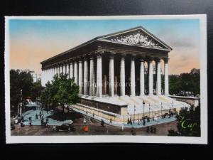 France PARIS: LA MADELEINE c1940's RP by C.A.P of Paris 170515