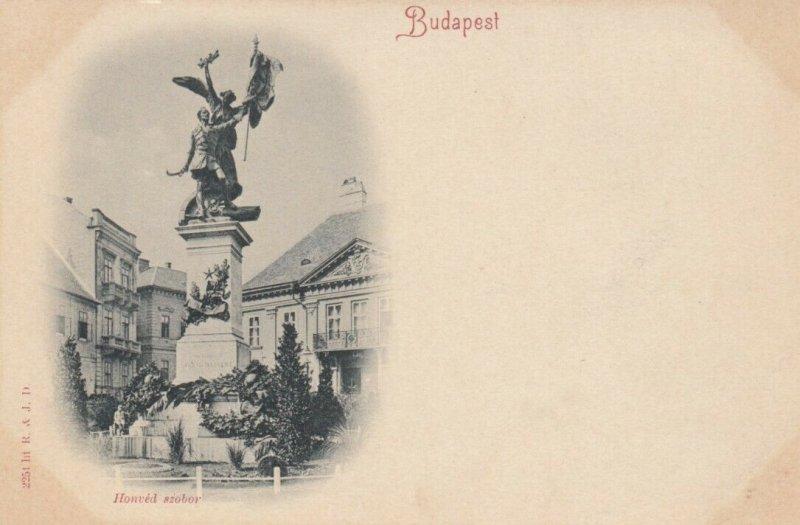 BUDAPEST , Hungary, 1890s ; Honved szobor