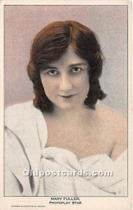 Mary Fuller Photoplay Star Theater Actor / Actress Unused