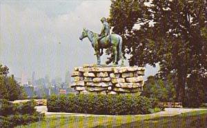 The Scout Famous Statue By Cyrus Edwin Dallin Kansas City Missouri