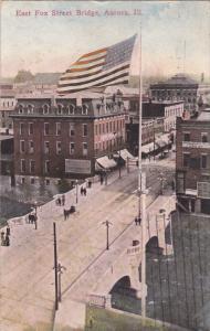AURORA, Illinois, PU-1913; East Fox Street Bridge