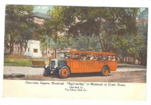 Yellow Cab Company Sightseeing , Dominion Square , Montreal , Canada ,00-10s