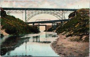 High Level Bridges Hamilton Ontario c1910 Macfarlane Postcard G89