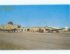Pre-1980 AIRPORT SCENE Youngstown Ohio OH E3370