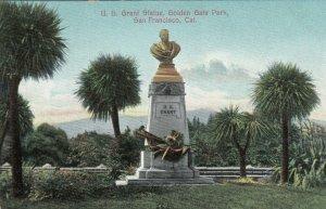 SAN FRANCISCO, California , 1900-10s ; U. S. Grant Statue, Golden Gate Park