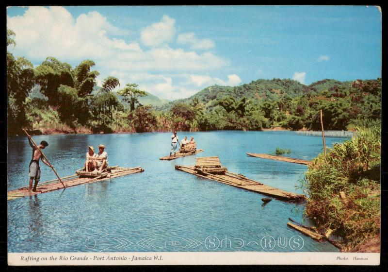 Rafting on the Rio Grande - Port Antonio - Jamaica W.I