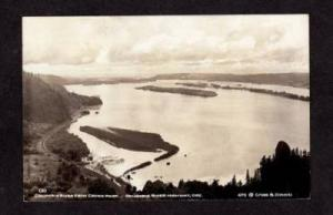 OR Columbia River Hwy Crown Point OREGON Real Photo PC Postcard