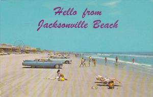 Florida Hello From Jacksonville Beach 1969