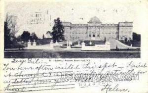 Botanical Museum Bronx Park NY 1905