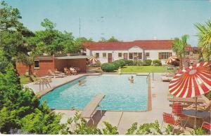 Travelers Motor Hotel, Pool , MYRTLE BEACH , South Carolina , 1960