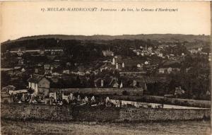 CPA MEULAN HARDRICOURT Panorama Au loin les Coteaux d'HARDRICOURT (353270)