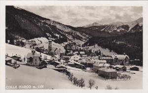 RP: COLLE ISARCO, Trento, Trentino-Alto, Italy; Bird's eye winter scene, 30-50s