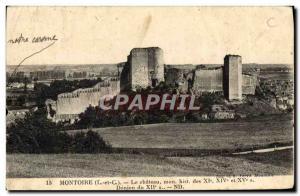 Old Postcard Montoire Le Chateau
