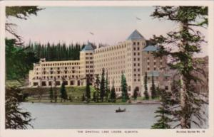 Canada Lake Louise The Chateau Real Photo