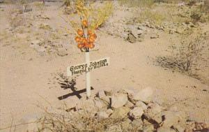 Arizona Tombstone Hanged By Mistake 1953