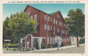 North Carolina Highland Hotel Edwards Open All The Year New And Modern Albertype