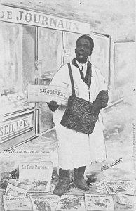 Blacks Post Card De Journaux 1907