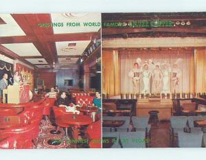 Pre-1980 SHOWGIRLS AT SILVER SLIPPER CASINO HOTEL Las Vegas Nevada NV G9857