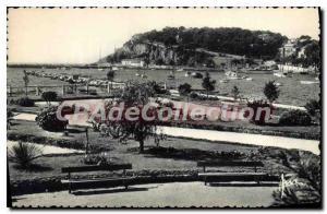Postcard Old Sanary The Municipal Garden