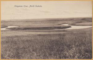 Sheyenne River, North Dakota, Great Plains, Winding River -