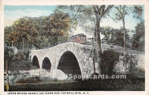 Leeds Bridge - Catskill Mountains, New York