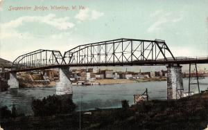 Wheeling WV~Terminal Railway Bridge~Kranich & Bach Pianos~Demolished 1993~1911