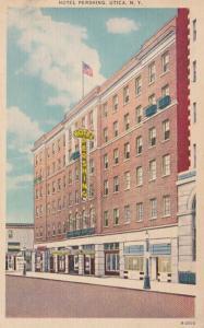 New York Utica Hotel Pershing 1952