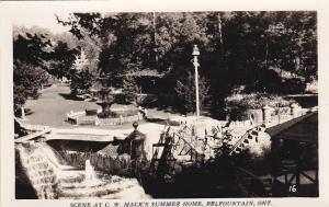 RP, C. W. Mack's Summer Home, Belfountain, Ontario, Canada, 30-40s #6