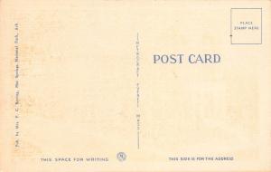 Hotel Moody, Hot Springs National Park, Arkansas,  Early Postcard, unused