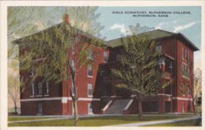 Kansas McPherson Girls Dormitory McPherson College